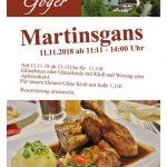 Hotel Restaurant Goger Haßfurt Martinsgans