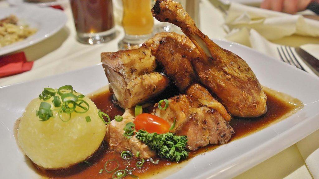 Restaurant Goger Haßfurt Speisekarte