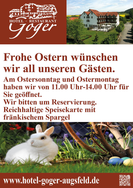 Ostern V DIN A Flyer