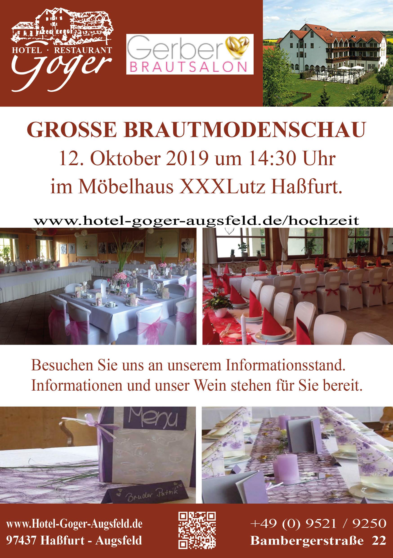 brautmodenschau v1 4 - GROSSE BRAUTMODENSCHAU 12.10.2019